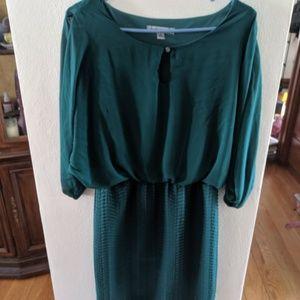 Short Green Party Dress